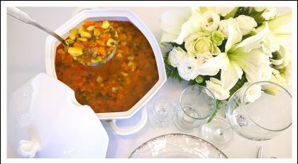 מרק ירקות אלג'יראי של פסח